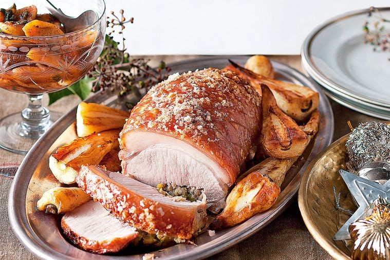 Easy Pork Roast with Crackle